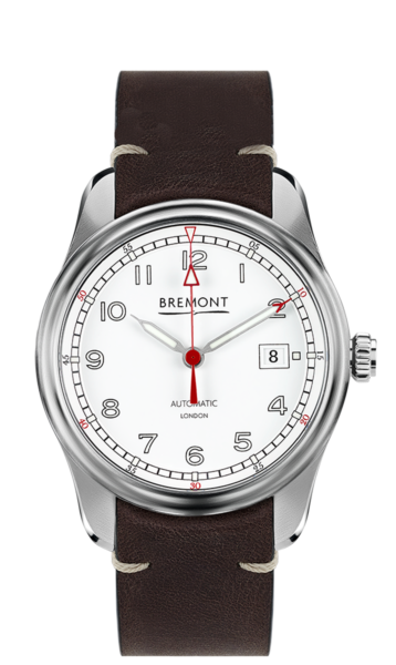 Airco Mach 1 Watch White Front View