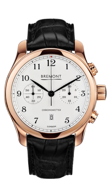 ALT1 C Rose Gold Watch Front View