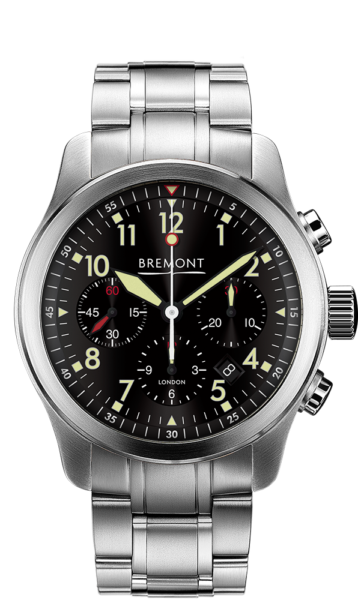 ALT1 P2 BK BR Watch Front View