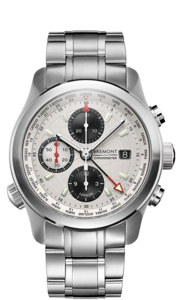 ALT1 WT WH BR Watch Front View