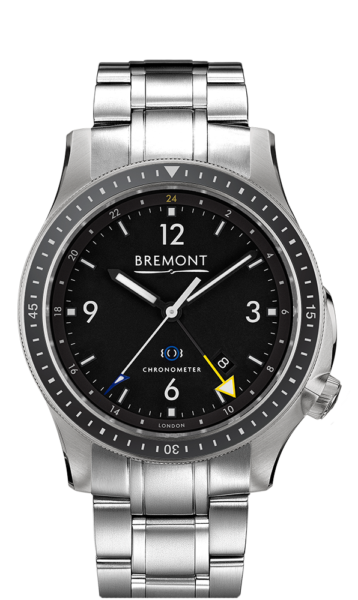 Bbm1 Ti Gmt Br Watch Front View
