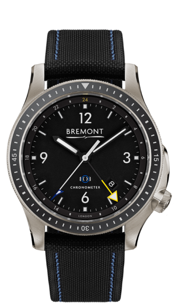Bbm1 Ti Gmt Watch Front View