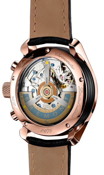 Bremont 1918 Rose Gold Watch Back View
