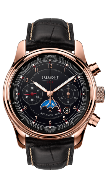 Bremont 1918 Rose Gold Watch Front View