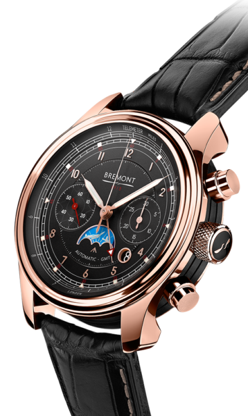 Bremont 1918 Rose Gold Watch Side View