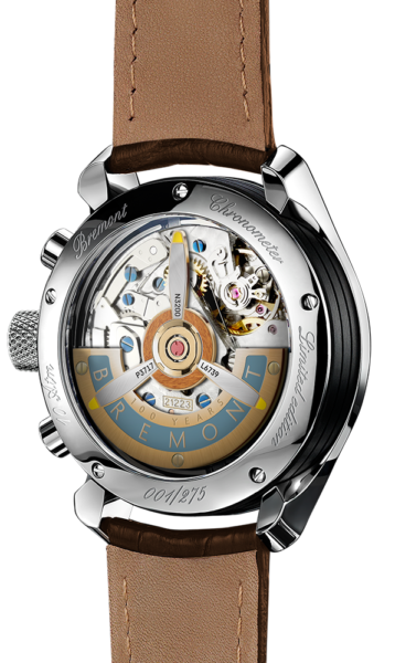 Bremont 1918 Stainless Steel Watch Back View