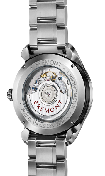 Bremont Airco Mach 3 Bl Br Watch Back View