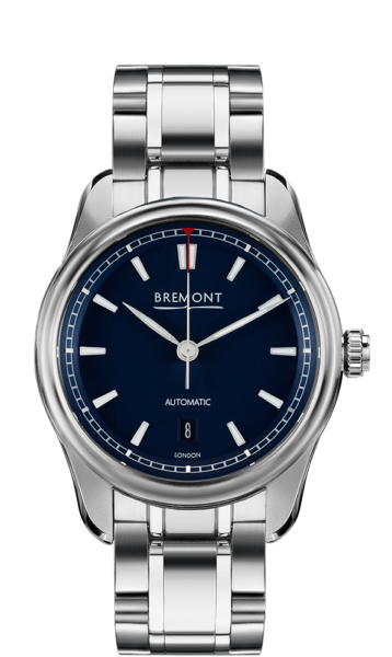 Bremont Airco Mach 3 Bl Br Watch Front View