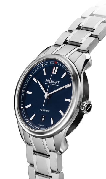 Bremont Airco Mach 3 Bl Br Watch Side View