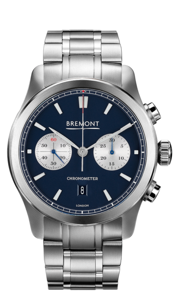 Bremont Alt1 C Bl Br Watch Front View