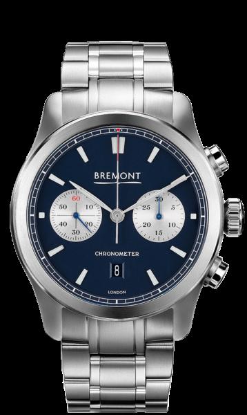Bremont Alt1 C Bl Br Watch Front View