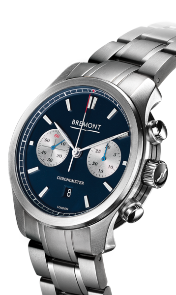 Bremont Alt1 C Bl Br Watch Side View