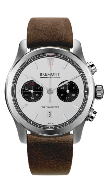 Bremont Alt1 C Wh Bk Watch Front View