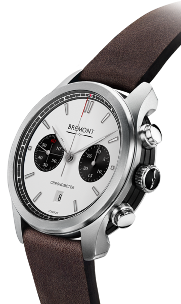 Bremont Alt1 C Wh Bk Watch Side View