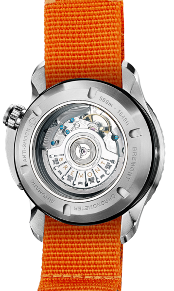 Bremont Endurance Watch Back View