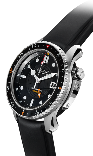 Bremont Endurance Rubber Side