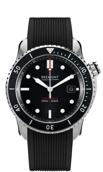 Bremont S500 Bk 18 Watch Front View
