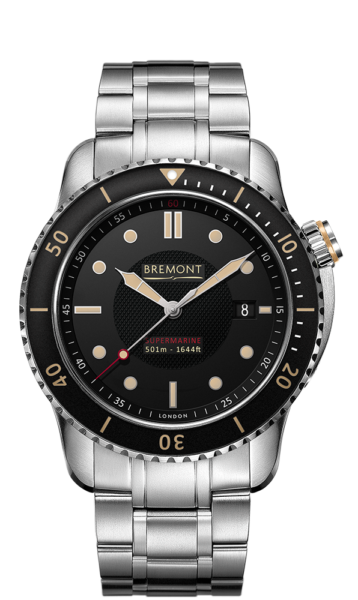 Bremont S501 Br Watch Front View