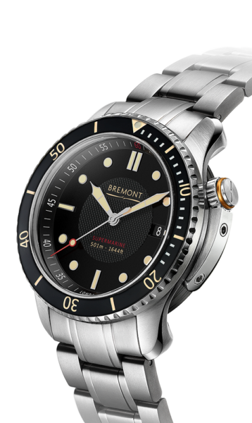 Bremont S501 Br Watch Side View