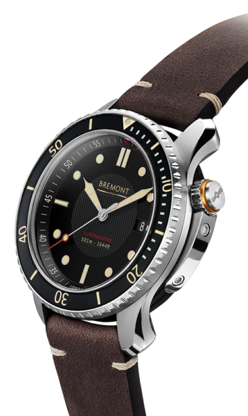 Bremont S501 Watch Side View