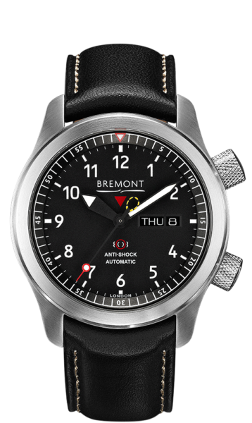 Mbii Bk Watch Front View