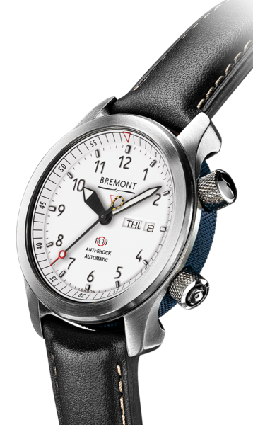 Mbii Wh Bl  Watch Side View
