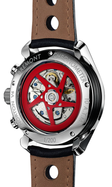 Norton V4 Watch Back View