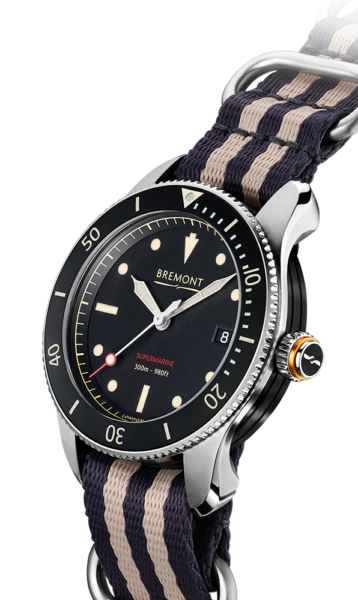 S301 NATO Watch Side View