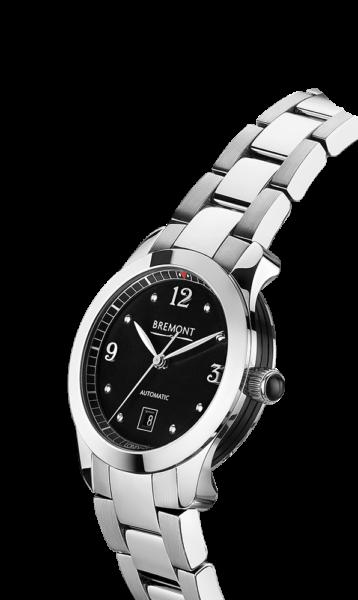 SOLO 32 AJ BK Bracelet Watch Side View