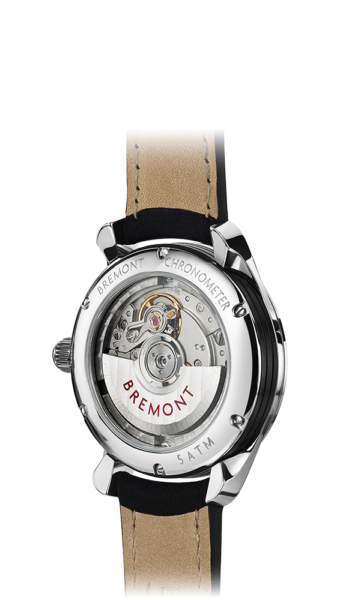 Solo 32 Ss Watch Back View