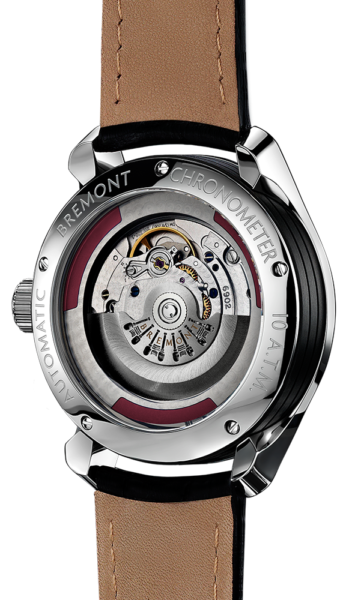 SOLO Polished Watch Back View