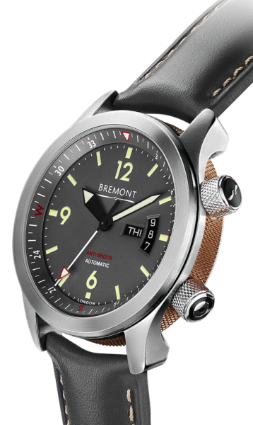 U 22 Watch Side View