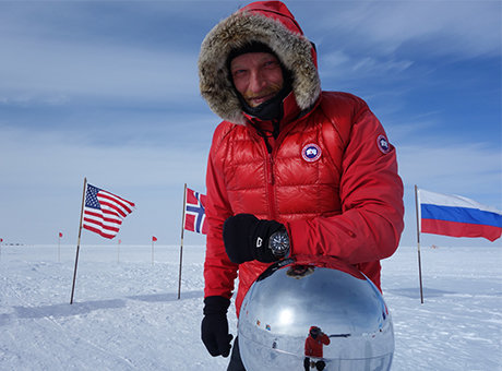 Ben Saunders South Pole